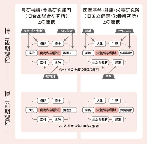 連携大学院方式による教育研究指導体制