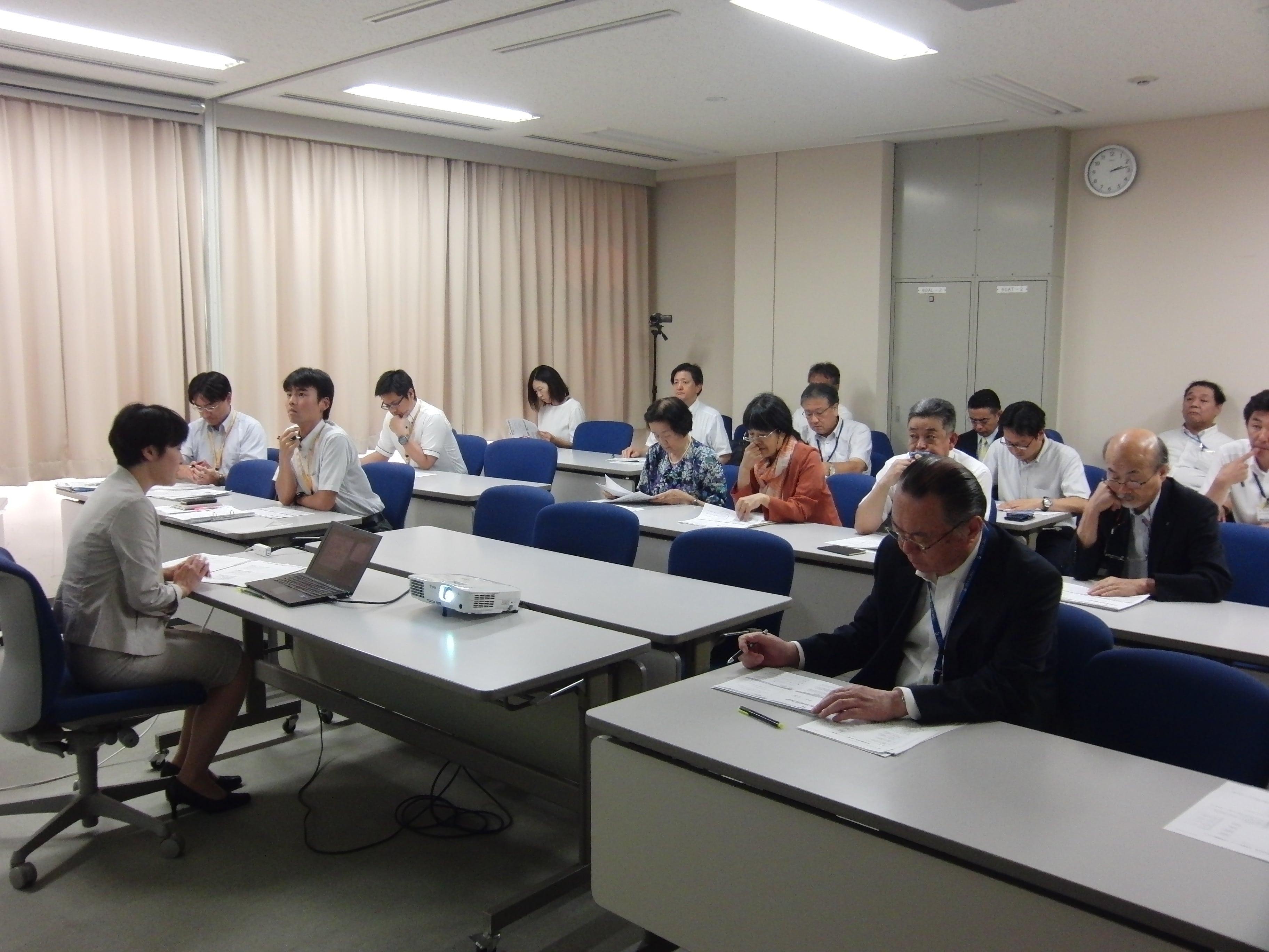 特別教職実践演習(8月期)が開催されました。